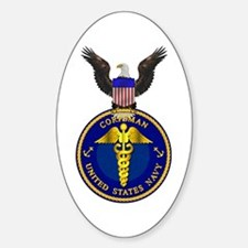Navy Corpsman Oval Decal