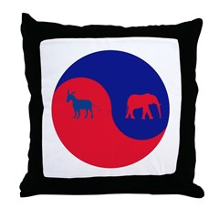 Divided Government Stuff Throw Pillow