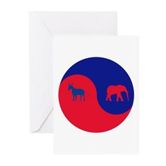 Divided Government Greeting Cards (Pk of 10)