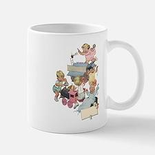 Vintage Children Playng Mug