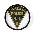 Passaic Police Wall Clock