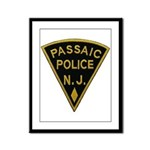 Passaic Police Framed Panel Print
