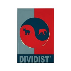 Divided Government Rectangle Magnet (10 pack)