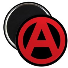 Anarchy Simple Symbol Magnet