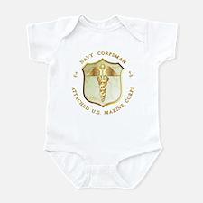 Navy Corpsman USMC Infant Creeper