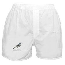 tufted titmouse Boxer Shorts
