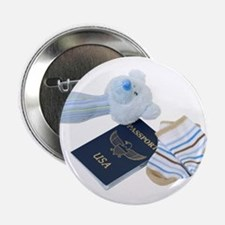 """Baby Travels 2.25"""" Button"""