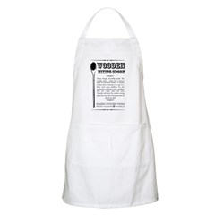 Wooden Mixing Spoon BBQ Apron