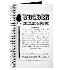 Wooden Mixing Spoon Journal