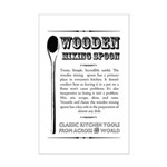 Wooden Mixing Spoon Mini Poster Print