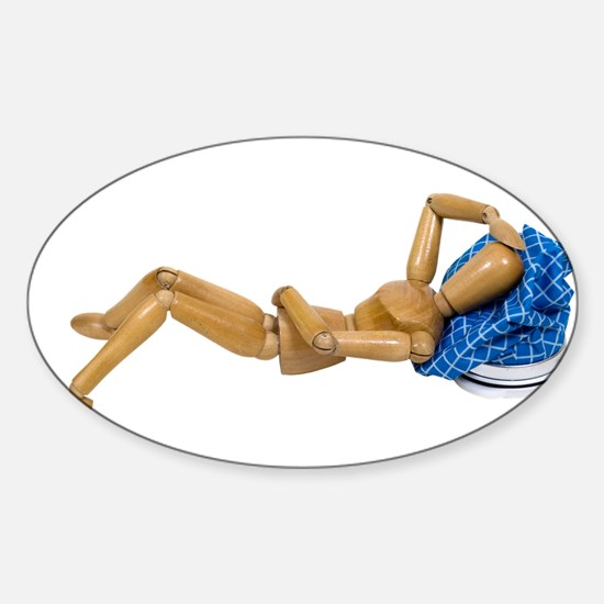 Health Recovery Sticker (Oval)
