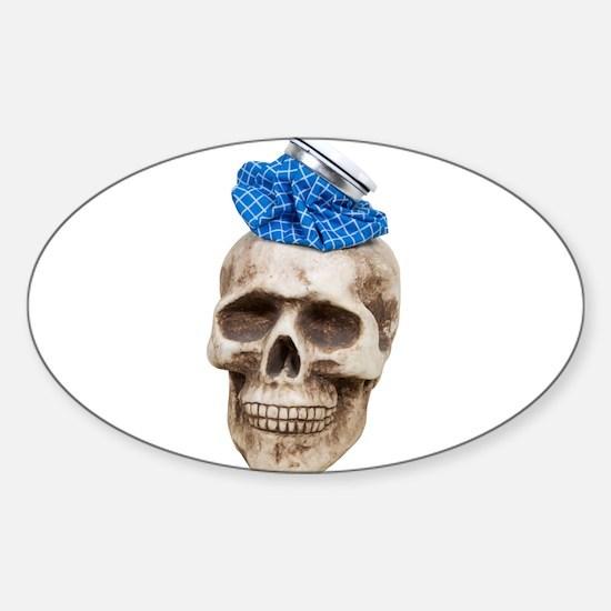 Major headache Sticker (Oval)