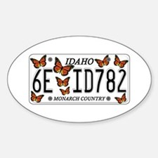 ID Butterfly Decal