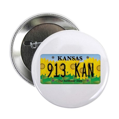 "KS Sunflower 2.25"" Button (10 pack)"