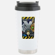 X ZONE Poster Stainless Steel Travel Mug