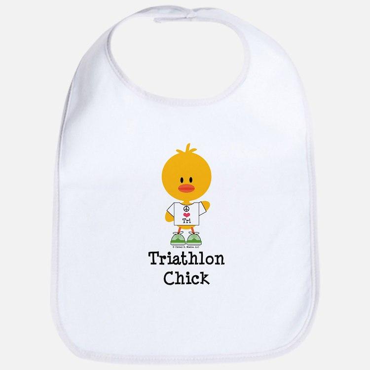Triathlon Chick Bib