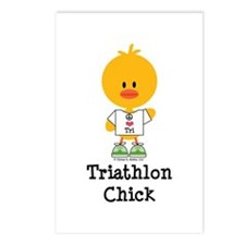 Tri Chick Postcards (Package of 8)