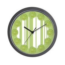 Lime Ricky Wall Clock
