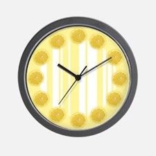 Lemon Ice Wall Clock