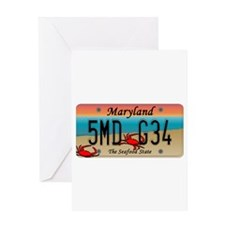 MD Seafood Greeting Card