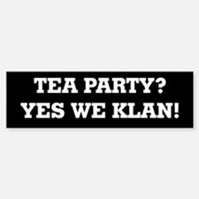 Funny Tea party express Sticker (Bumper)