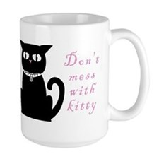 "Kitty Evils ""Don't mess with kitty""  Mug"