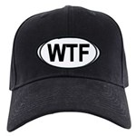 WTF Oval Black Cap