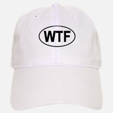 WTF Oval Baseball Baseball Cap