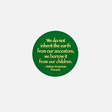 Inherit the Earth Mini Button