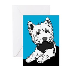 Scottie Dog Greeting Cards (Pk of 20)