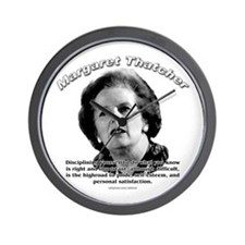 Margaret Thatcher 01 Wall Clock