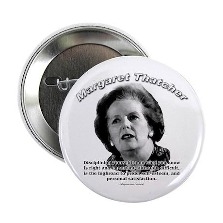 Margaret Thatcher 01 Button