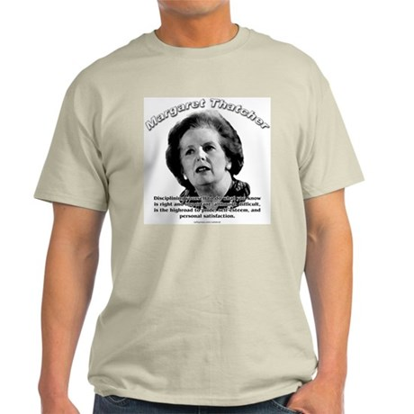 Margaret Thatcher 01 Ash Grey T-Shirt