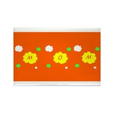 Mom Mother's Day Flowers Rectangle Magnet