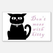 Kitty Evils Rectangle Decal