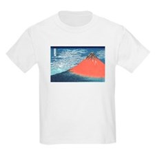 Japanese Fujiyama  Kids T-Shirt