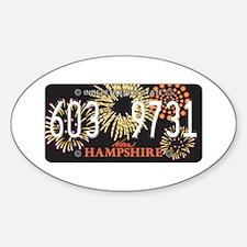 NH Fireworks Decal
