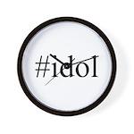 #idol Wall Clock