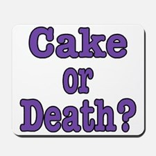 Cake Please Mousepad