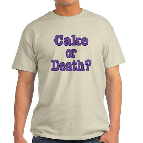 Cake Please Light T-Shirt