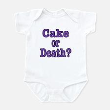 Cake Please Infant Bodysuit