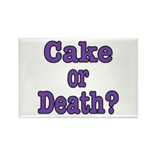 Cake Please Rectangle Magnet