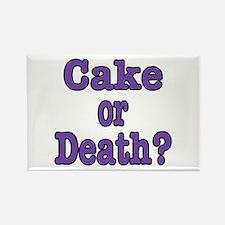 Cake Please Rectangle Magnet