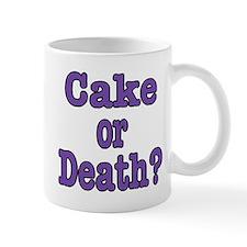 Cake Please Small Mug