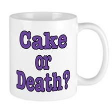 Cake Please Small Mug