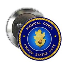 Navy Medical Corps Button