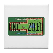 NC Mini Golf Tile Coaster