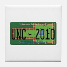 NC Mini Golf Tile Coaster