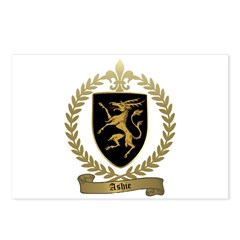 ASHIE Family Crest Postcards (Package of 8)