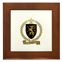 ASHIE Family Crest Framed Tile